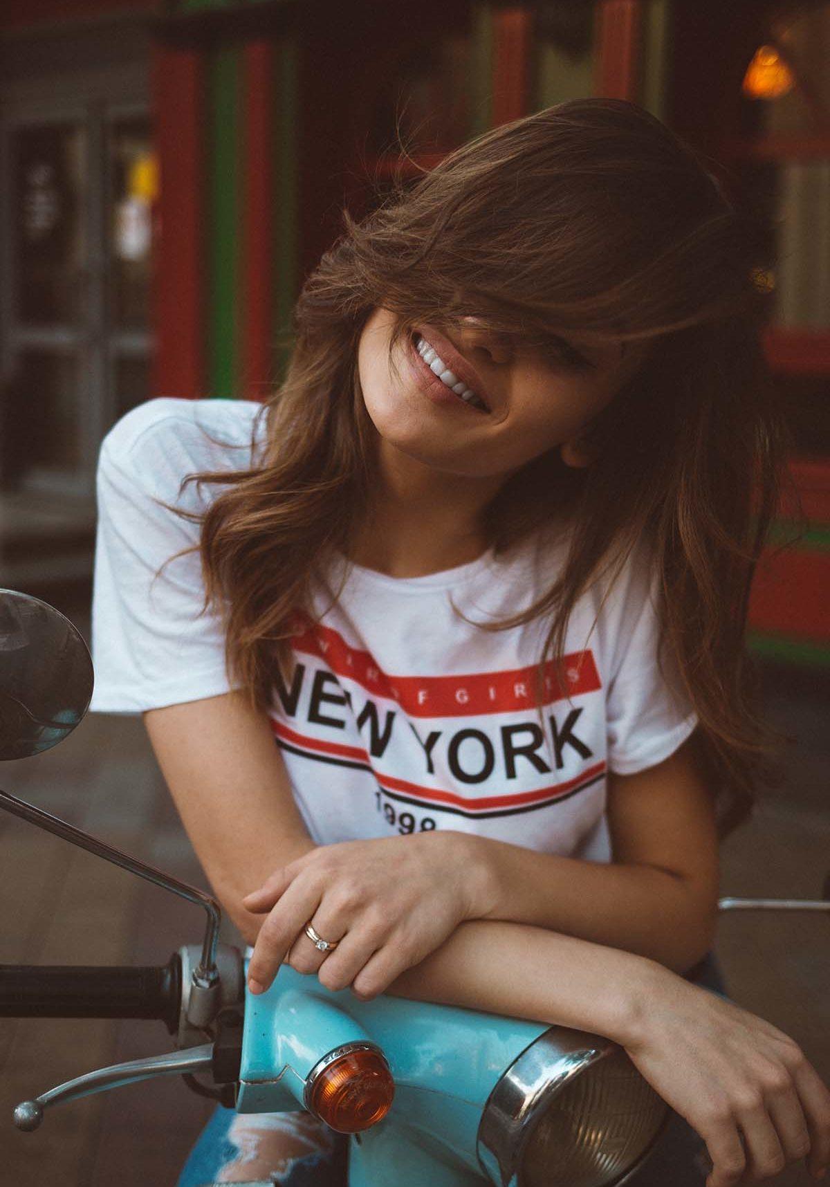 A beautiful girl New York